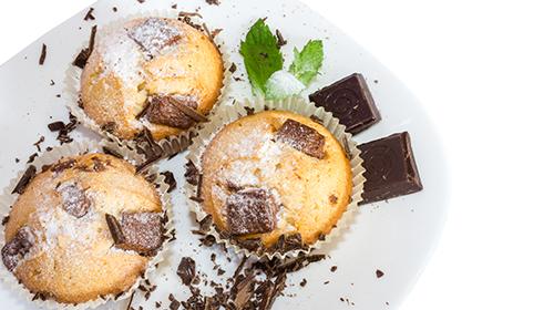 Bananen Vanille Muffins
