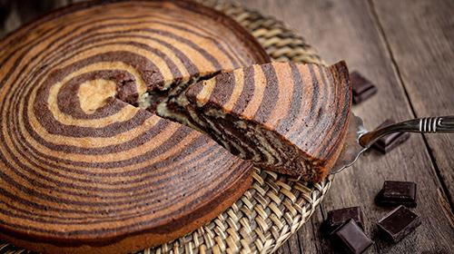 LowCarb Zebrakuchen ohne Boden